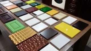 видео Крашенные фасады МДФ для кухни и мебели