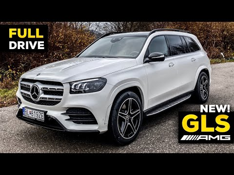 2020 MERCEDES GLS NEW GLS 400d AMG FULL DRIVE Review BETTER Than BMW X7?! Acceleration Sound