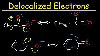 Delocalized vs Localized Electrons, pKa, Acidity, Conjugate Base, Resonance Hybrid and Contributors thumbnail