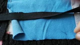 Шью из ненужных кофточек и свитеров половичок - коврик.
