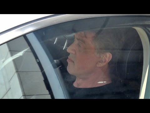 EXCLUSIVE - Sly Stallone Gets His Morning Workout On In Beverly Hills