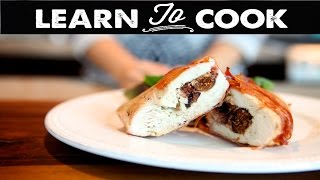 How To Make Fig & Goat Cheese Stuffed Chicken Breast