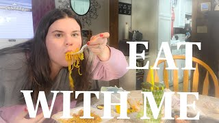 EAT WITH ME | PANDA EXPRESS | TACO BELL