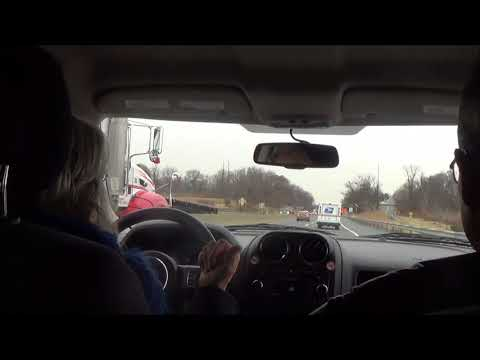 Driving on Interstate 78 W/U.S. Route 22 E (Salisbury Township, PA to Lehigh Valley Int'l Airport)