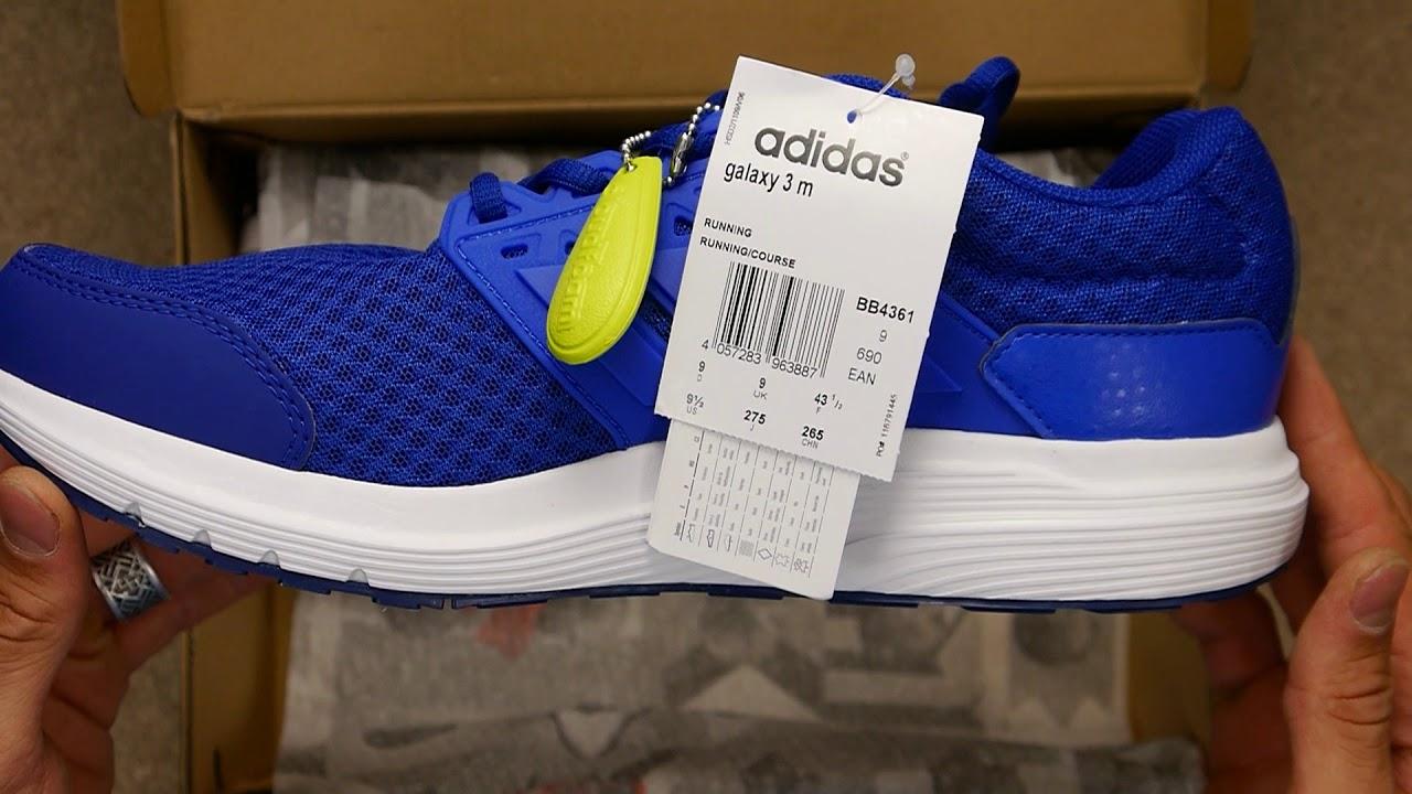 Mecánicamente ganso juez  Обзор оригинальных кроссовок Adidas Galaxy 3 Man синие - YouTube