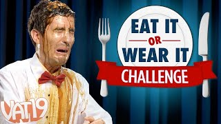 Eat It or Wear It Challenge (Would you eat Slime or wear a Fish Smoothie?)