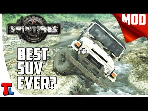 The Best SUV? | Spintires Best Mods | 60 fps Gameplay | Toyota FJ 40