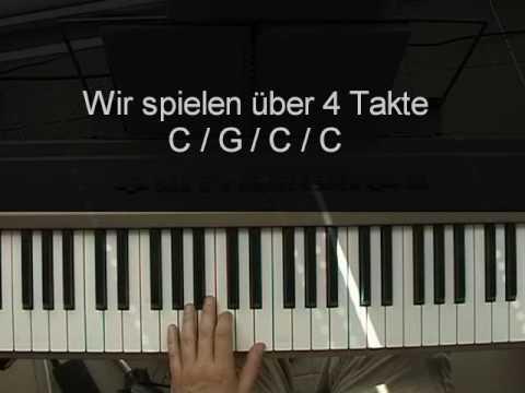 Klavier lernen: Mit den Akkorden C und G frei spielen - Teil 1