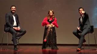 Stana Katic sings Hey Blue Eyes (full Q&A at Absentia S2 Premiere, in Portugal)