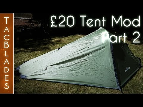 Cheap Tent Mods Part 2 : Wild Camping