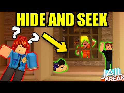 FAMILY HIDE AND SEEK IN ROBLOX JAILBREAK *INTENSE*