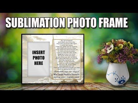 SUBLIMATION PHOTO FRAME