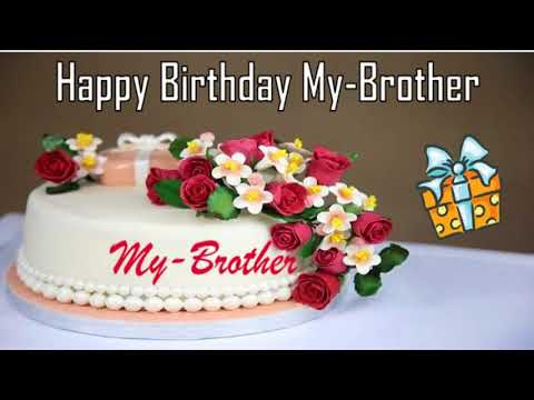 Happy Birthday My-Brother Image Wishes✔