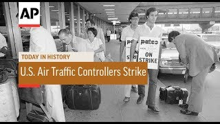 Video U.S. Air Traffic Controllers Strike - 1981   Today In History   3 Aug 17 download MP3, 3GP, MP4, WEBM, AVI, FLV Juni 2018