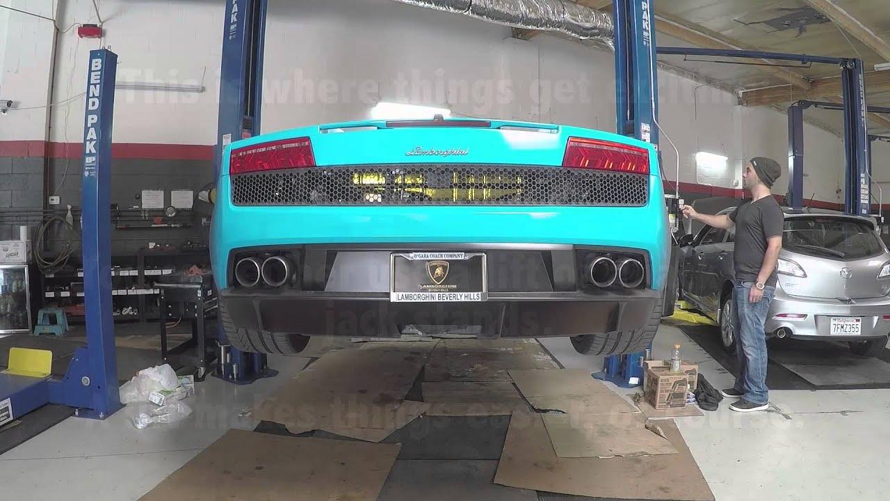The Proper Lamborghini Lp Gallardo Oil Change Instructions