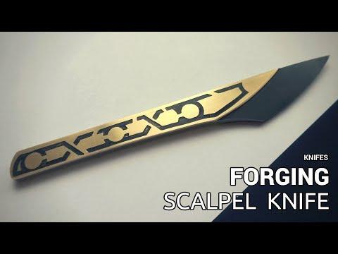 Knife Making - Forging Scalpel Style Knife