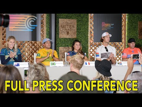 Founders Cup FULL Press Conference with Captains