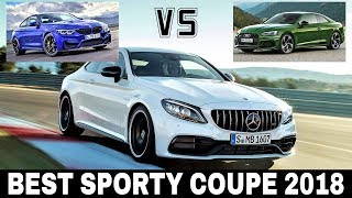 Mercedes AMG C63 S vs BMW M4 vs Audi RS5: Reviewing Sporty Coupes of 2018