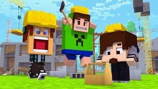 Minecraft : CONSTRUÍMOS A CASA MAIS MALUCA !! - Mundo Maluco #02