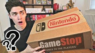 Gamestop Sent Me This MYSTERY Nintendo Package! ($100+ WORTH INSIDE!)
