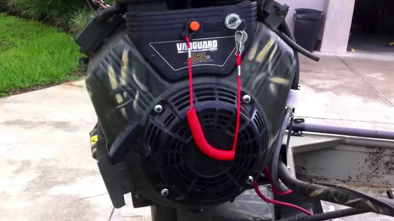 Bps exhaust 23hp vanguard dixie mud motor