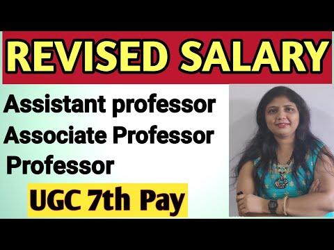 Revised Salary Of Assistant Professor, Associate Professor And Professor As Per UGC Norms