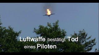 EUROFIGHTER-CRASH: Trauer - Luftwaffe bestätigt Tod eines Piloten
