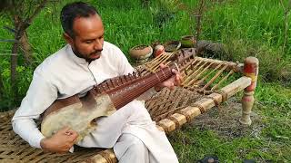 Pashto Song Lar sha Peshawar ta Qamees thor Mala Rawora (Instrumental) by Dilsher Khan