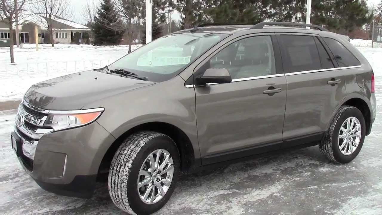 Ford Edge Limited >> 2013 Ford Edge Limited AWD - YouTube