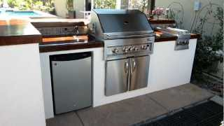 Eldorado Hills Outdoor Kitchen W/ Highlow Bar And Pub Style End By Gpt Construction