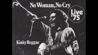 BOB MARLEY AND THE WAILERS - NO WOMAN NO CRY (live) -VINYL