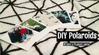 DIY Polaroid Pictures without …