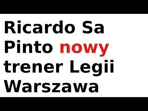Ricardo Sa Pinto nowy trener Legii Warszawa