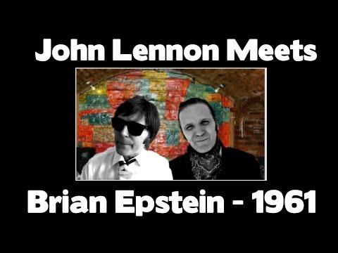 BEATLES - John Lennon Meets Brian Epstein 1961