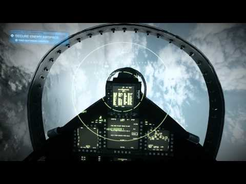 Battlefield 3 Jet mission: Going Hunting - 1080p Ultra Gameplay [No Commentary]