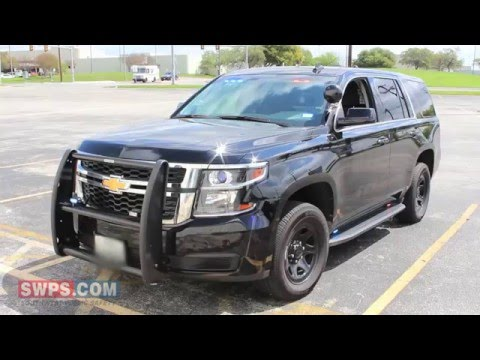 2016 Chevy Tahoe PPV Outfitted With LEDs/Police Equipment - SWPS - SM16TAHOE