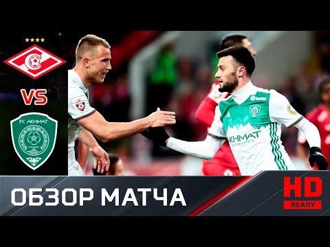 23.04.2018г. Спартак - Ахмат - 1:3. Обзор матча