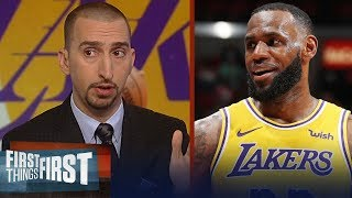 Nick Wright reacts to LeBron James scoring 51 pts against the Miami Heat | NBA | FIRST THINGS FIRST