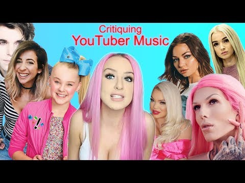 Critiquing Youtuber Music (Tana Mongeau, Jeffree Star, Gabbie Hanna, Jojo Siwa)