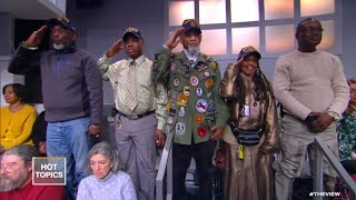 'The View' Honors Veterans in Audience | The View