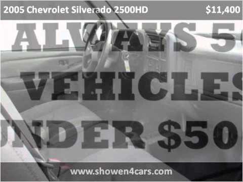 2005 chevrolet silverado 2500hd used cars wilmington oh for Showen motors wilmington ohio