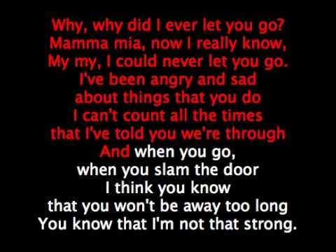 ABBA - MAMMA MIA - Remix - Karaoke mp3 syncro cori