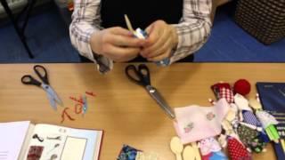 Изготовление куклы на ложке