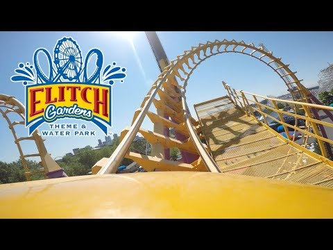 Elitch Gardens Theme & Water Park 2017 Tour & Review (Denver, Colorado)