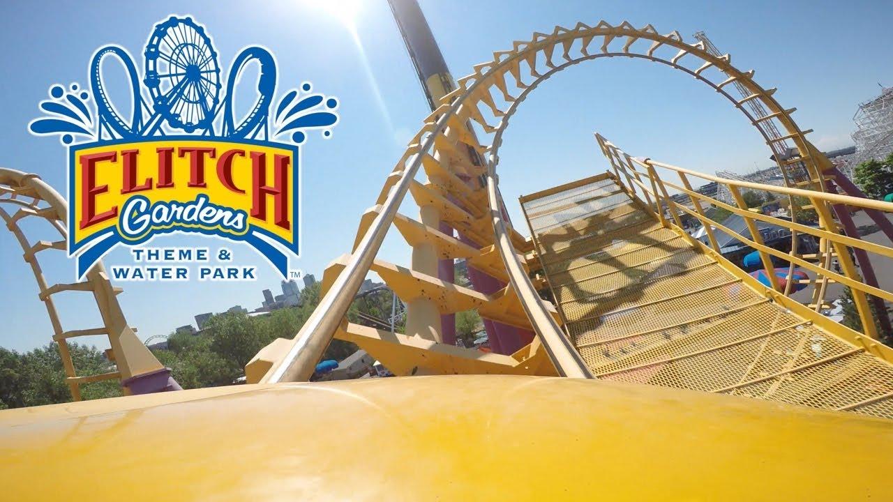 Elitch Gardens Theme Water Park 2017 Tour Review Denver Colorado Brandonblogs