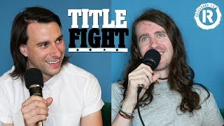 How Many Mayday Parade Songs Can Derek Sanders & Alex Garcia Name In 1 Minute? - Title Fight