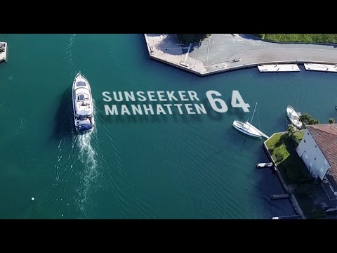 Happy Owners - Delivery of a Sunseeker Manhattan 64
