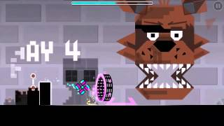Geometry Dash Level: 5 Nights at Freddy's