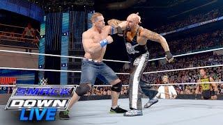 John Cena vs. Luke Gallows: SmackDown Live, July 19, 2016