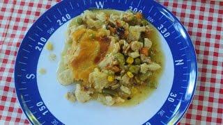 Rv Cooking: Yukon Chicken Pie